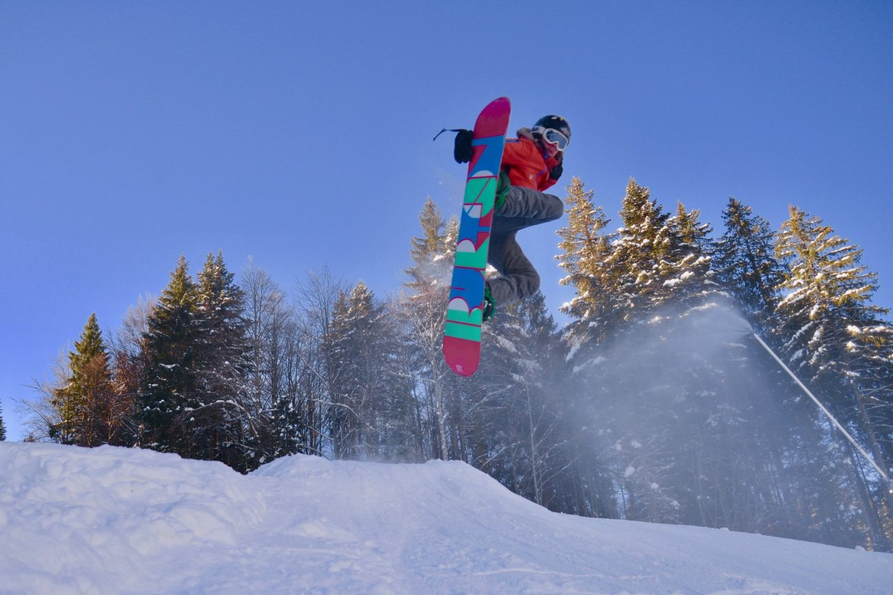 Book your snowboard course now!